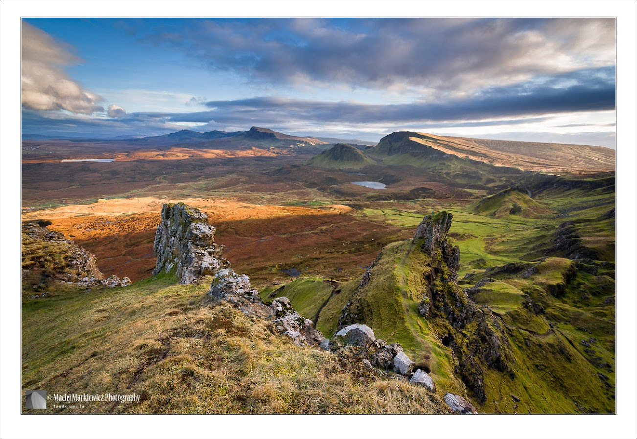 Photograph Sunset over Trotternish Ridge by Maciej Markiewicz on 500px