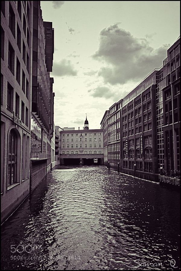 Photograph Hamburg canal by Sawsan  Mohammed on 500px