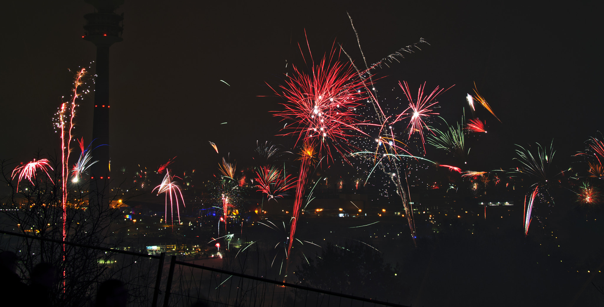 Photograph Firework on New year by Siriwit Pewon on 500px