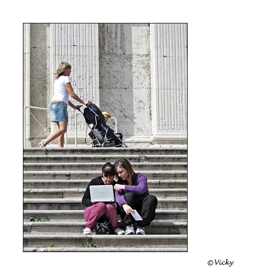 Photograph on the stairs  by Vicky Dens on 500px
