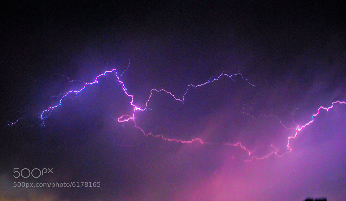 Photograph Thunder rage  by Bikrant Poudel on 500px