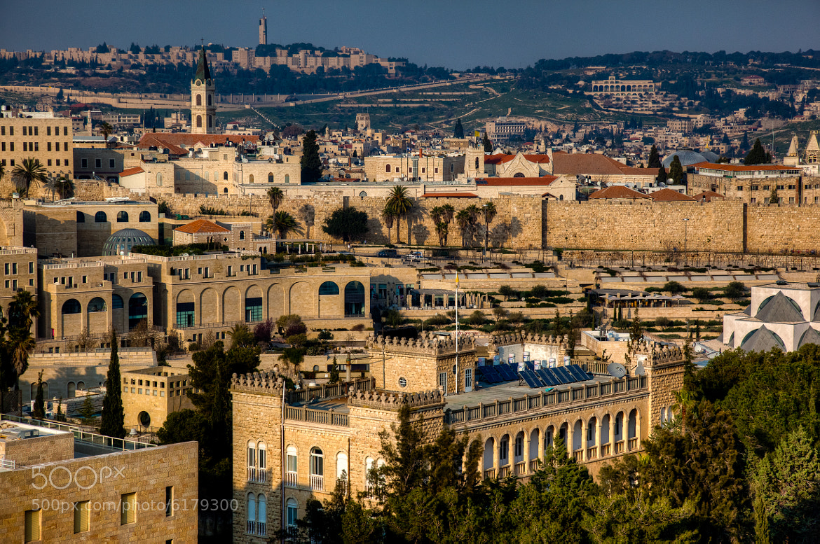 Photograph Sunset Over The Holy City by Uri Baruch on 500px