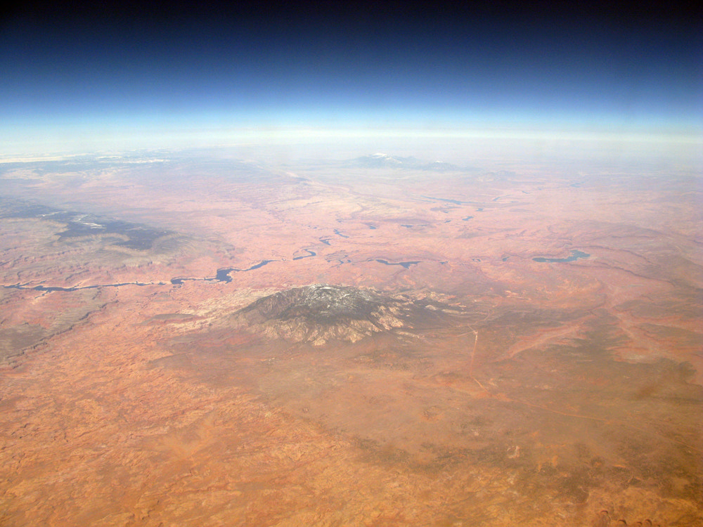 Photograph  Aerial View of Navajo Mountain by Scott Braut on 500px
