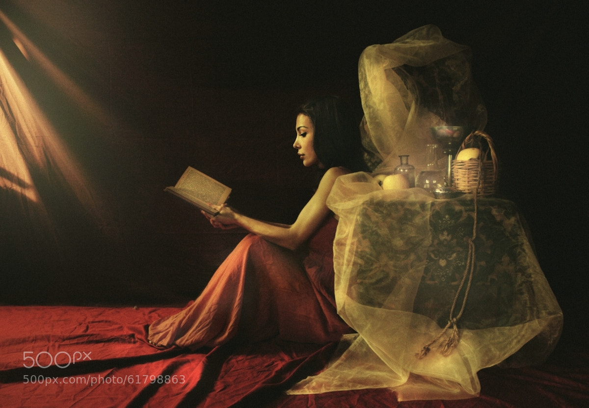 Photograph Woman with book II by Kiril Stanoev on 500px