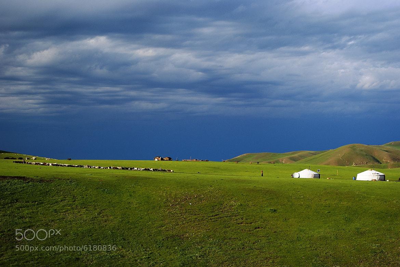 Photograph Mongolien landspace by Branko Frelih on 500px