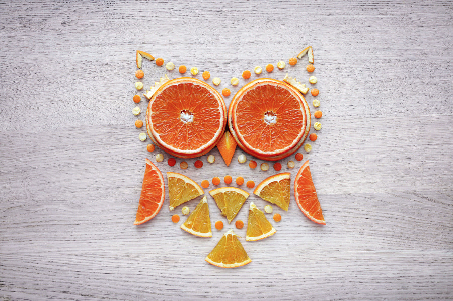 Orange Art by Daryna Kossar on 500px.com