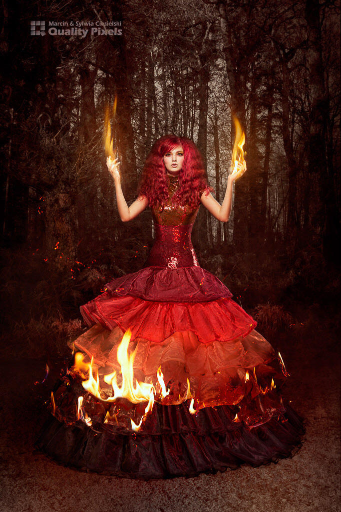 Photograph Catching Fire by Quality Pixels Marcin and Sylwia Ciesielski on 500px