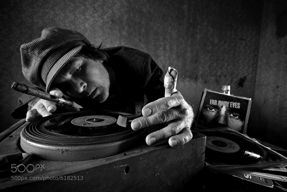 Photograph vintage DJ by Mario Grobenski on 500px
