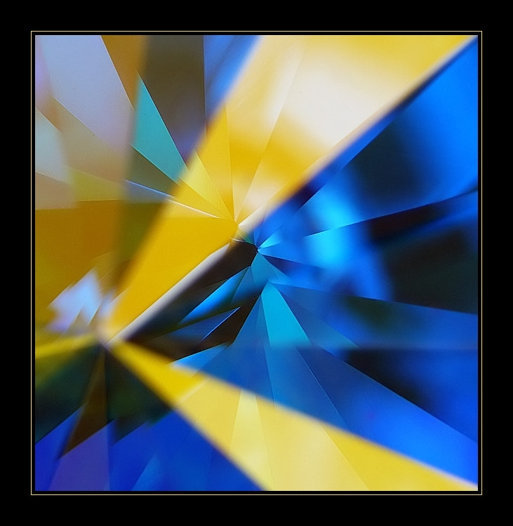 Photograph Blue and yellow by Peter Murányi on 500px