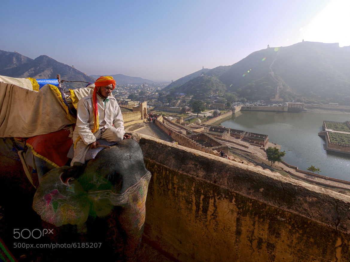 Photograph Elephant Rider by Leo Ching on 500px