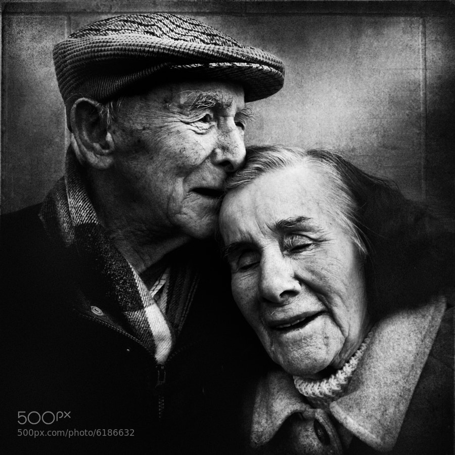 They walked a long way together.... by Lee Jeffries (LeeJeffries) on 500px.com
