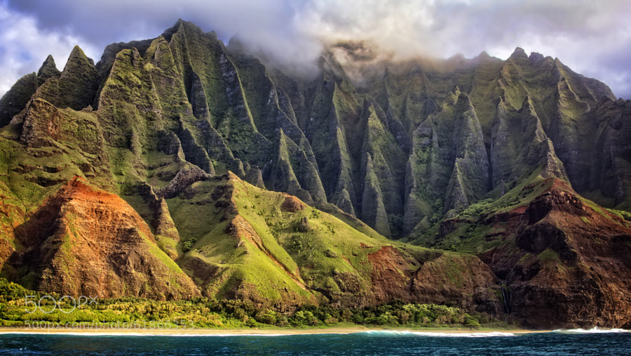 Photograph Na Pali Coast Too by Randy Dietmeyer on 500px
