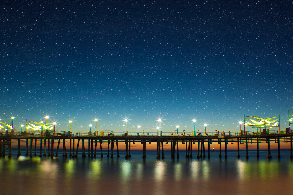 Photograph Stars at the Beach by Travis Silva on 500px
