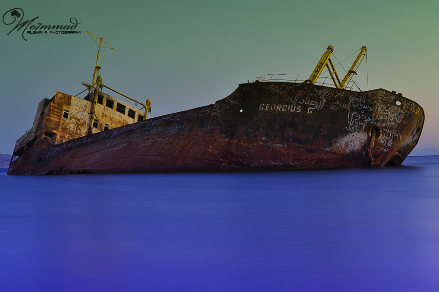 Photograph Old Ship by Mohammed Al Shaya on 500px