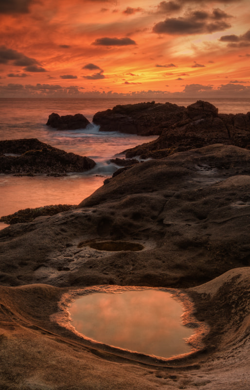 Photograph Fiery Coast by Vincent James on 500px