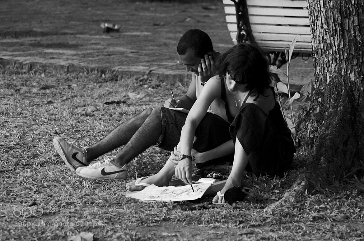 Photograph Drawing in the park by Francisco Cribari on 500px