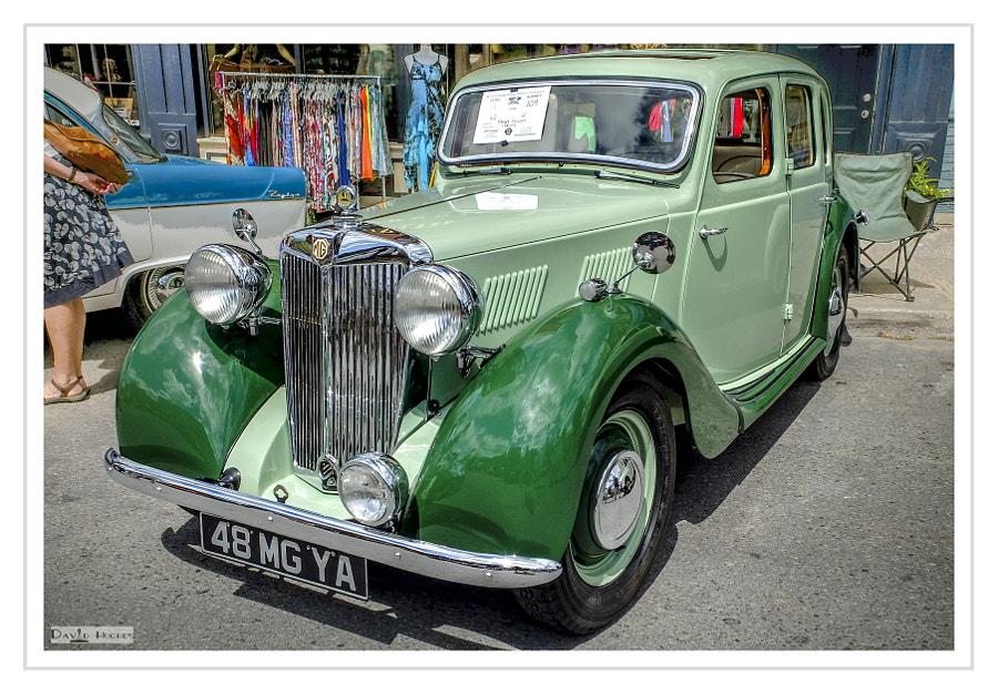 1948 MG YA Sedan