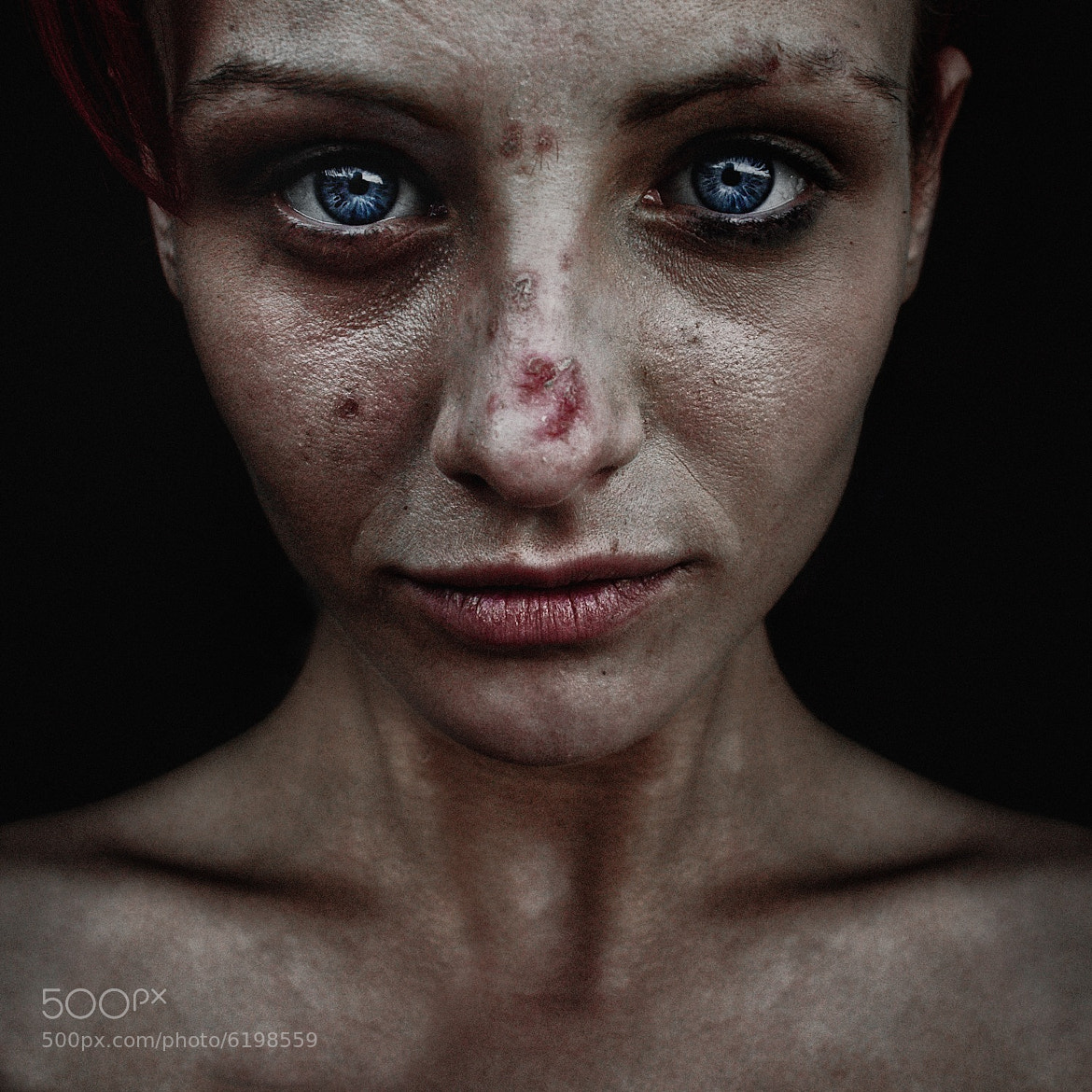 Photograph Hayley  by Lee Jeffries on 500px