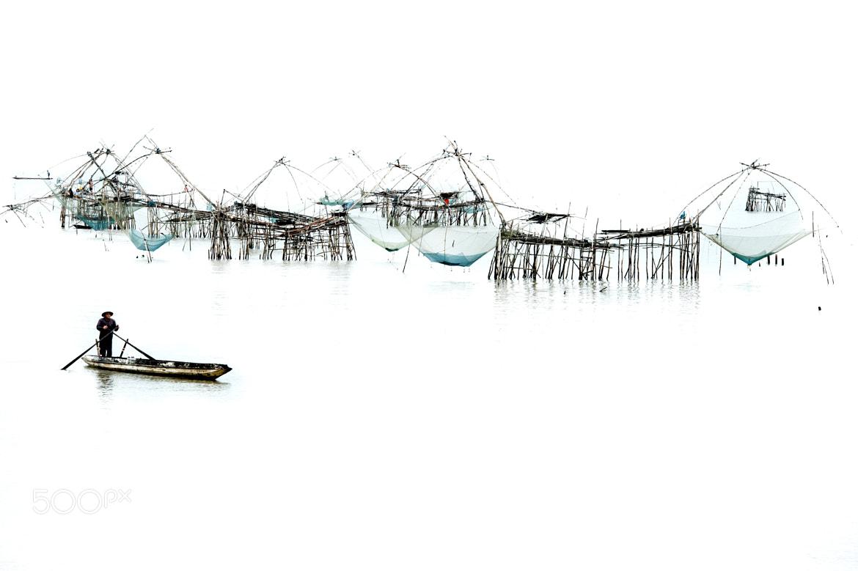 Photograph Thalenoi Fisherman by James Khoo on 500px