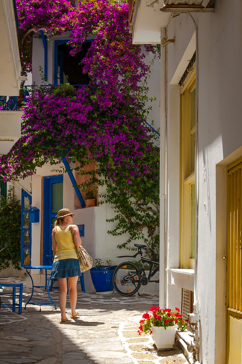 Photograph Skiathos Back Street by Damion Bridson on 500px