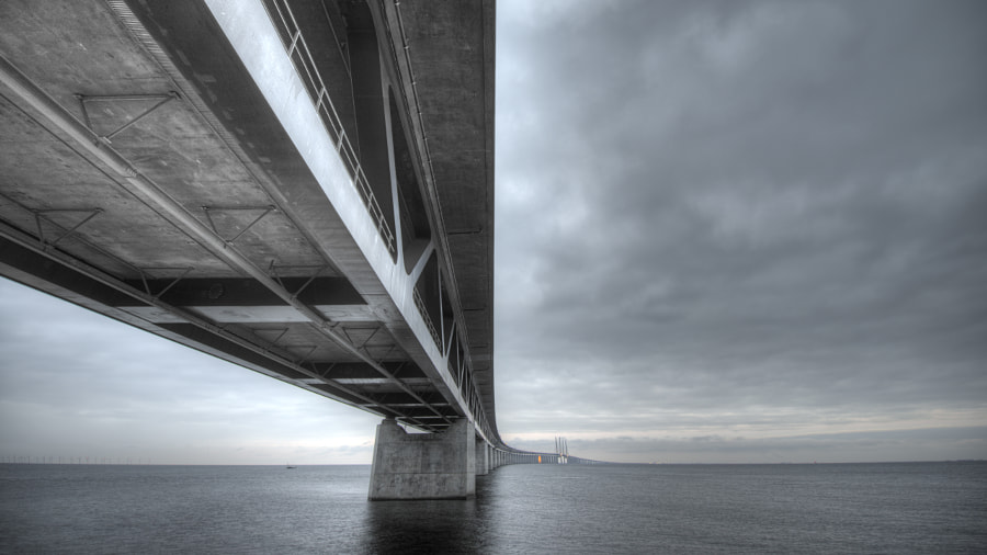 Photograph Öresundsbron by Daniel Paulsson on 500px