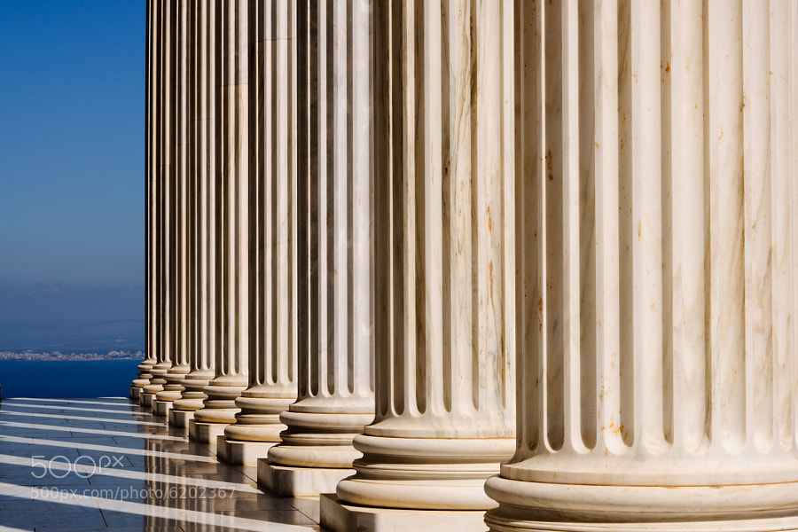 Photograph Colonnade of the Seat II by Chad Mauger on 500px