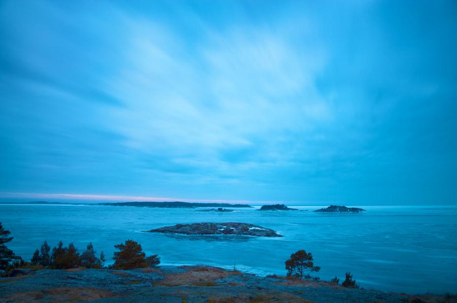 Gulf of Finland in February