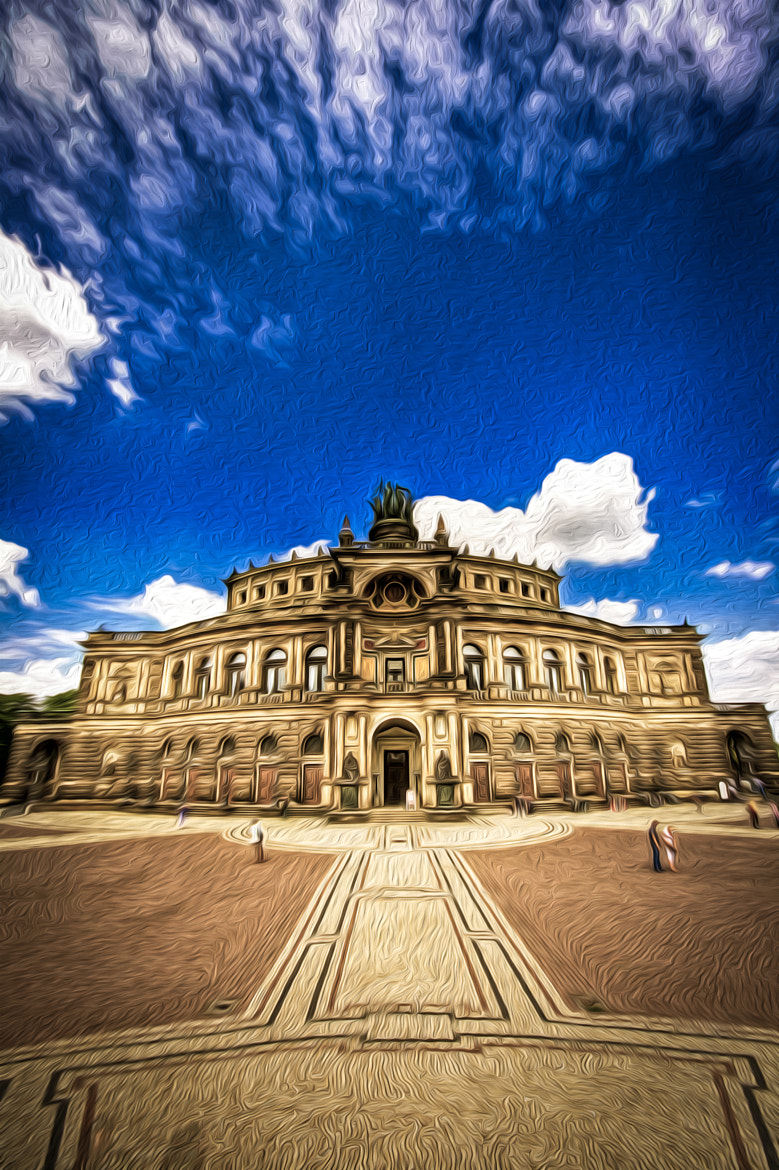 Photograph Semper Opera Dresden by Harald Wagener on 500px