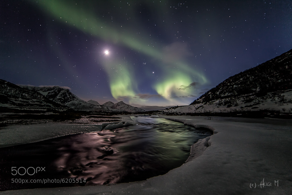 Photograph Ice & Aurora by Helge Mortensen on 500px