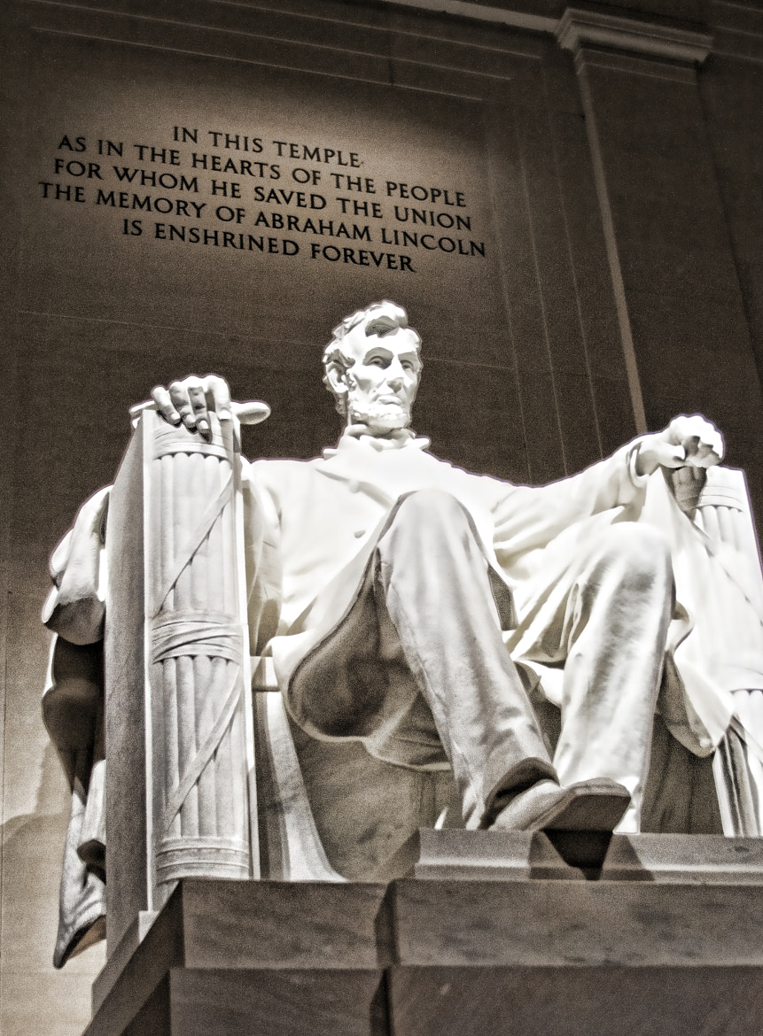 Photograph Lincoln Memorial by Michelle Maret on 500px