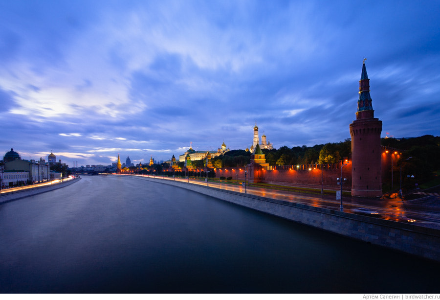 Photograph Moscow Kremlin in Twilight by Artem Sapegin on 500px