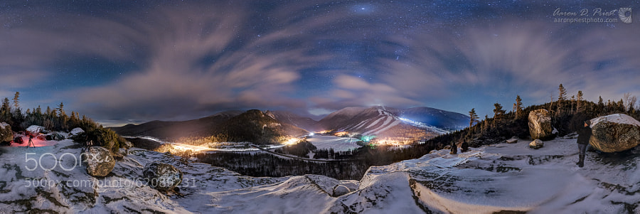 Photograph Artist's Bluff, Franconia Notch State Park, NH by Aaron Priest on 500px