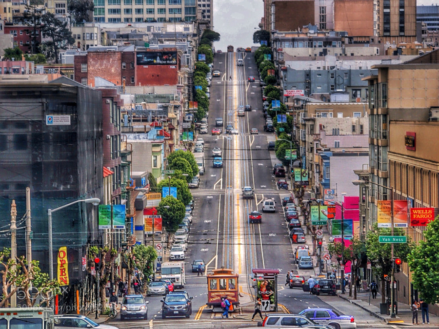 Photograph California Street by T. Malachi Dunworth  on 500px