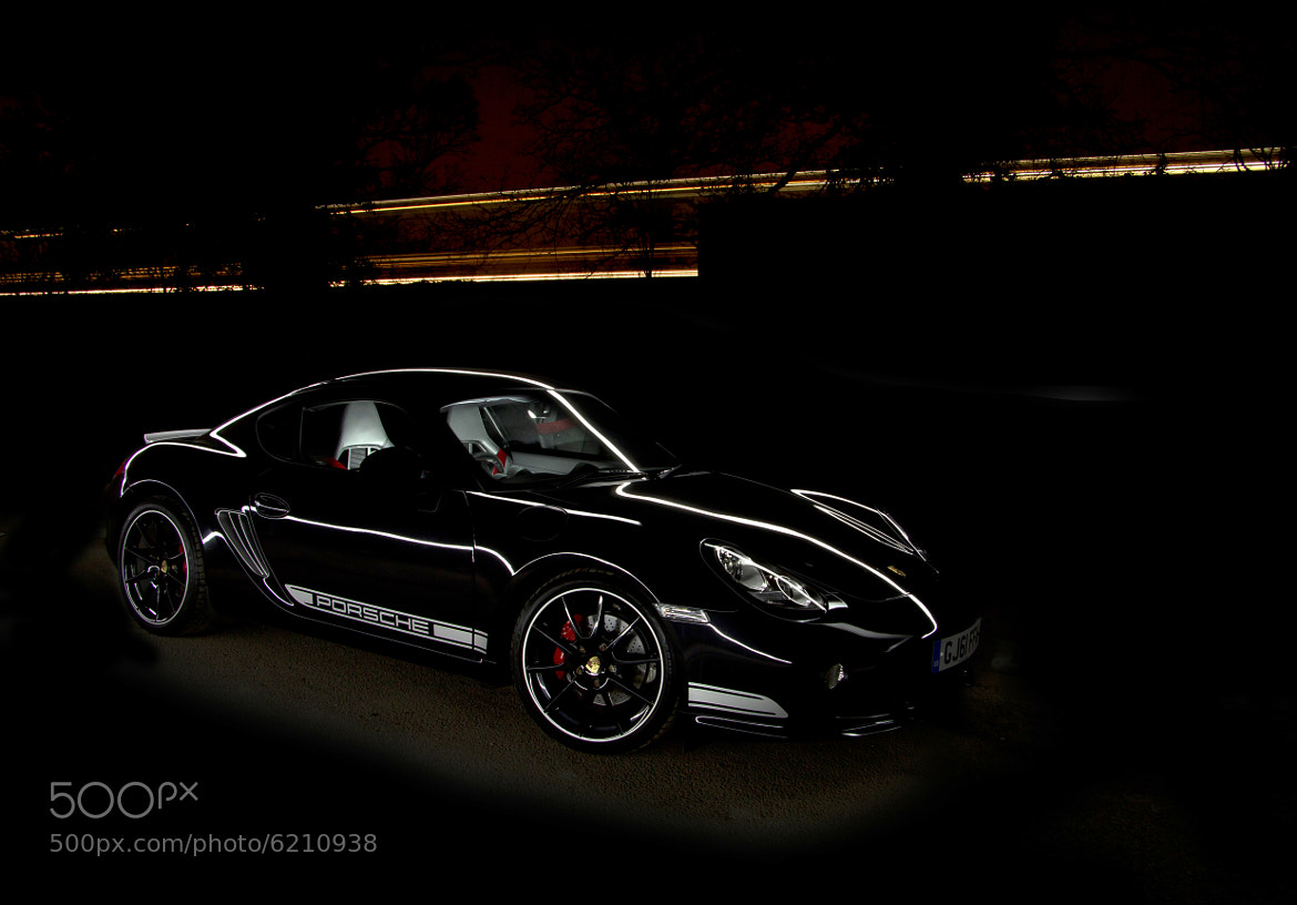 Photograph Porsche Cayman R Lightpainted by John Rampton on 500px