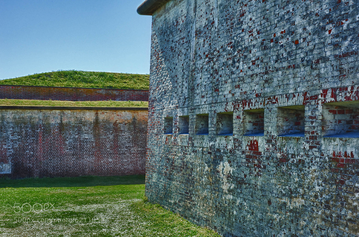 Photograph HDR – Out in the Yard at Fort Macon by Mark Neal on 500px