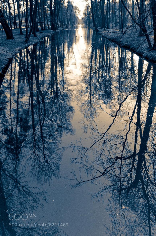 Photograph at dusk by Maciej Wronski on 500px