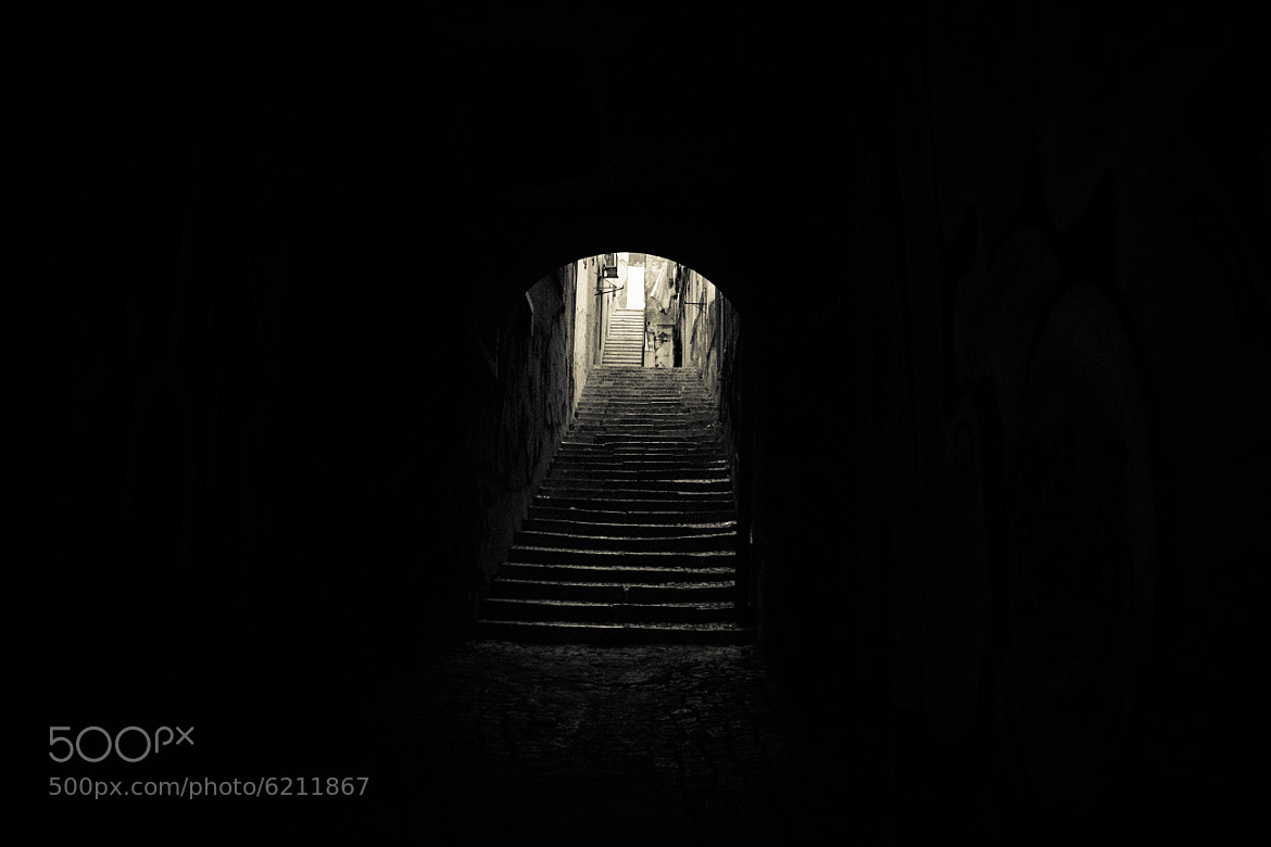 Photograph Dark stairs..... by Rui Boino on 500px