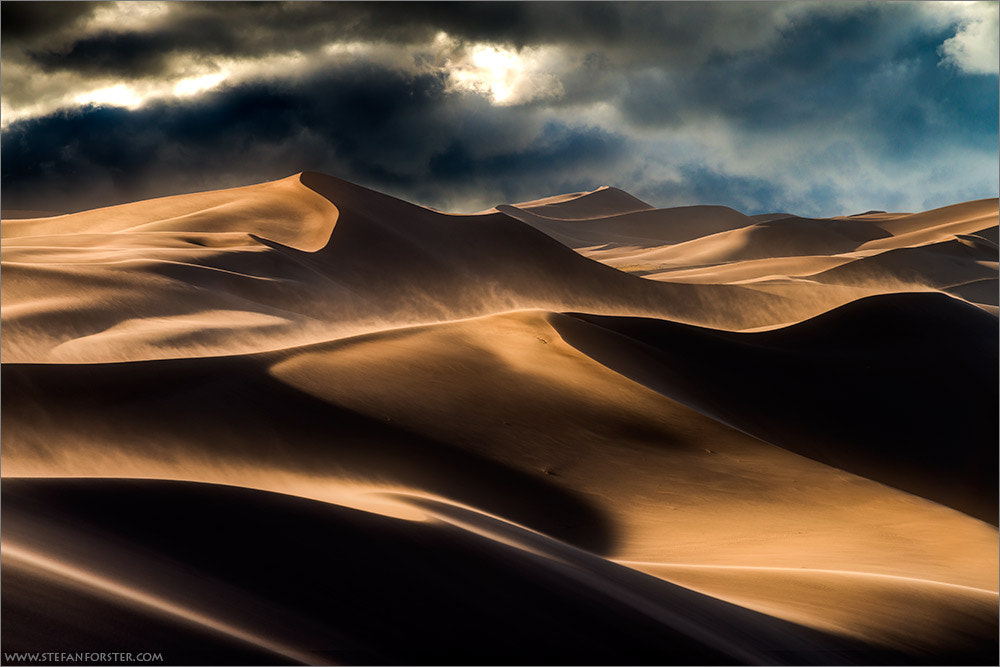 Photograph Storm in the Dunes by Stefan Forster on 500px