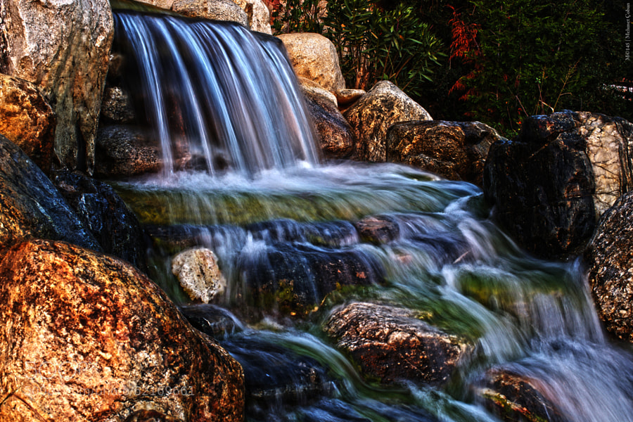 Photograph small waterfall by Mehmet Çoban on 500px
