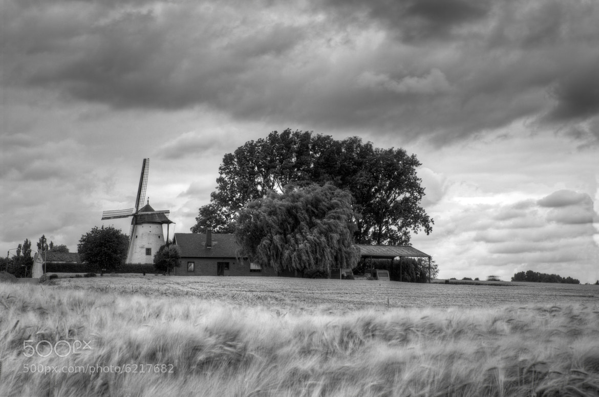 Photograph Windmill by Benoit Metens on 500px