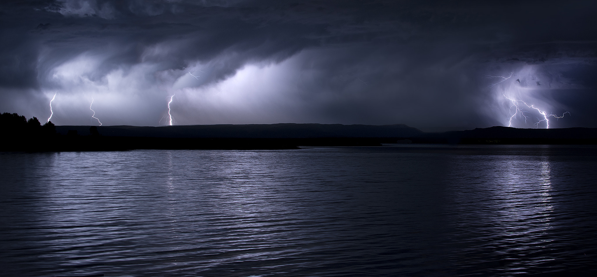 Photograph Montana Lightning Storm - Composite by Tobias Smith on 500px