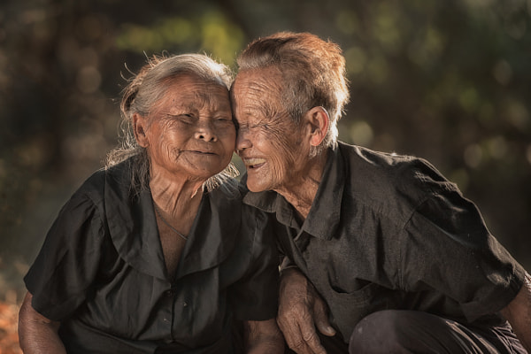 Photograph Long LOVE  (83 Year) by sarawut Intarob on 500px