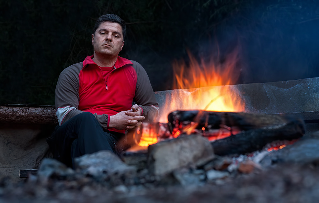 Photograph By the camp fire... by Vlatko Skendrovic on 500px