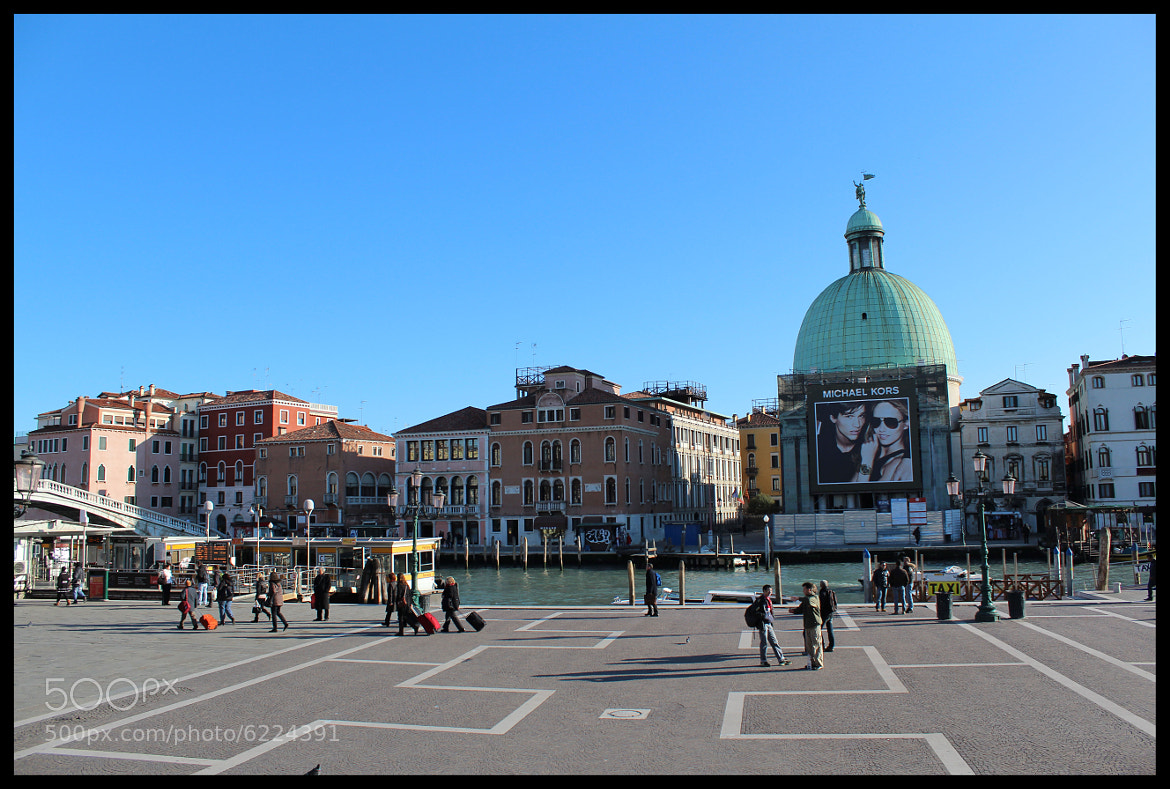 Photograph Just outside the railway station, Venice by HARINI RAJAGOPAL on 500px