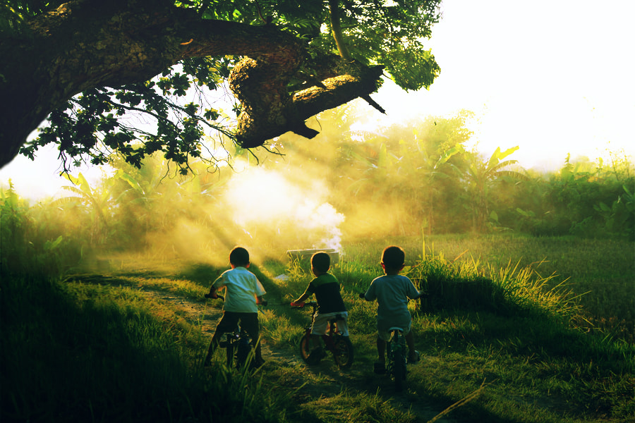 Photograph 3 little  kids by 3 Joko on 500px