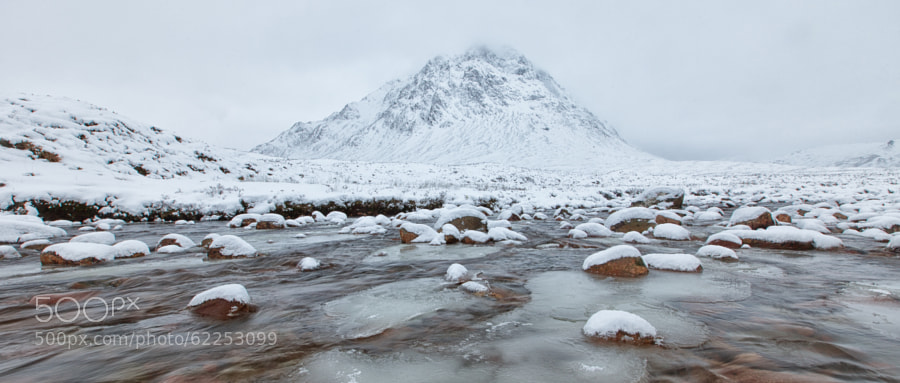 River Coupall, Glencoe, Scotland.