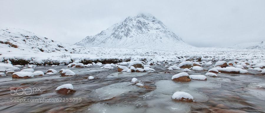 River Coupall, Glencoe, Scotland.