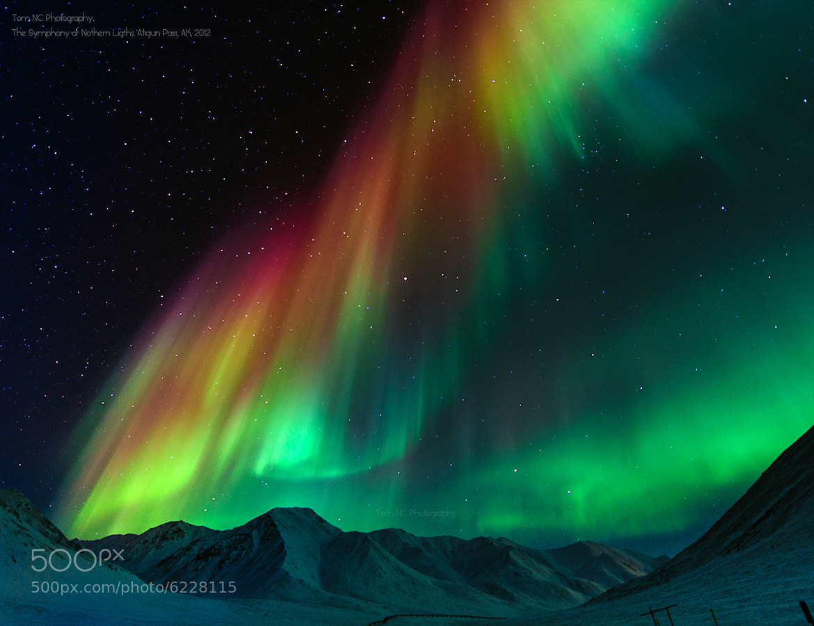 "Photograph The Symphony of Northern Lights by Noppawat ""Tom"" Charoensinphon on 500px"