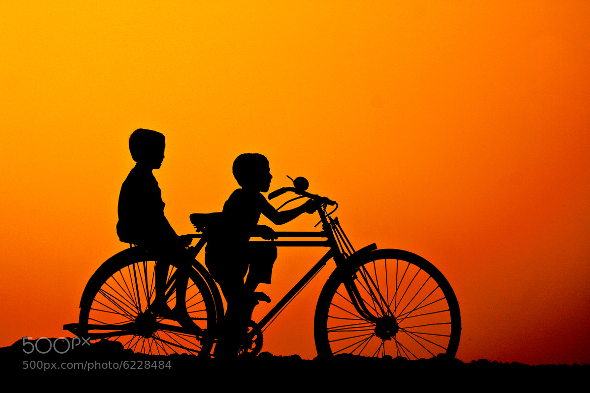 Photograph Golden Childhood by Sadik Shahriar on 500px