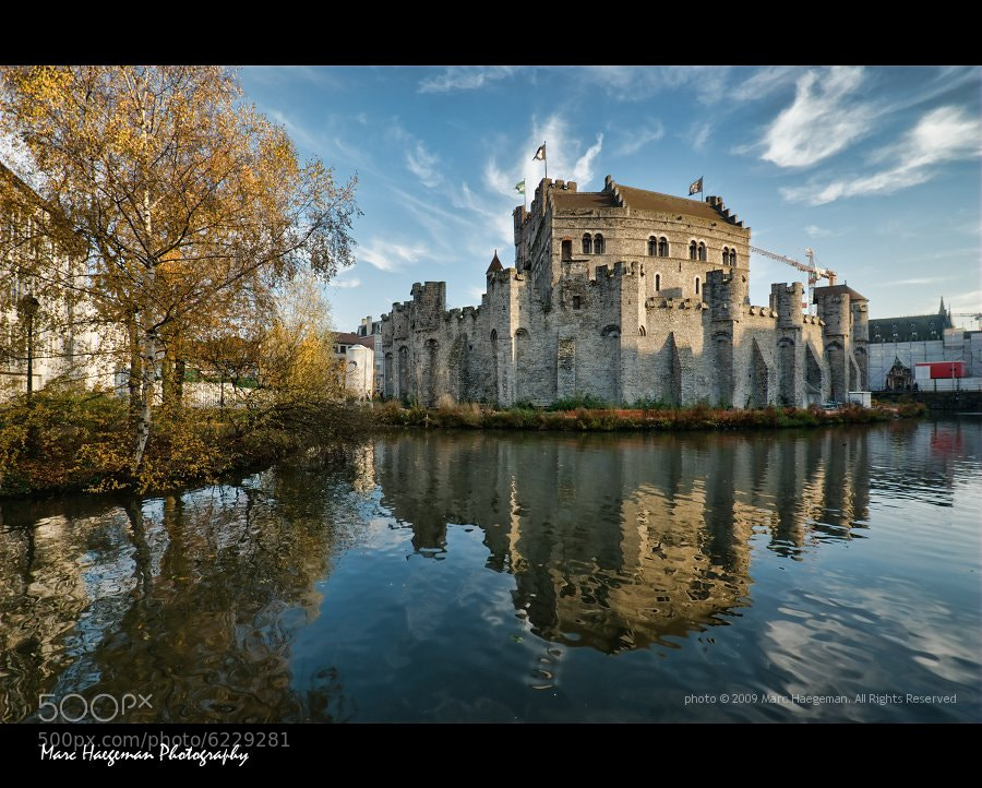 Photograph The old castle by Marc Haegeman - marc-haegeman-photography.com on 500px
